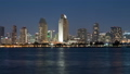Night view of the downtown building group from San Diego Coronado 47982710