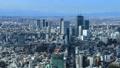 東京風景澀谷流動的雲彩光和陰影通過時間間隔修理 47999837