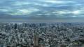 東京風景品川,東京灣覆蓋天空的雲彩時間流逝放大 48000535