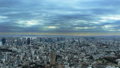 東京風景品川,東京灣覆蓋天空的雲流動時間流逝修復 48000537