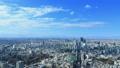 東京風景澀谷Aozora流動的云通過光和陰影隨時間推移縮小 48001323