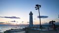 野間灯台の夕日 48004619