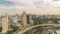 Singapore time lapse city skyline at Marina Bay 48026182