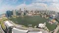 Singapore time lapse city skyline at Marina Bay 48026183