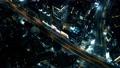 高城市首都高夜视图大城市时间间隔carrage的鸟瞰图 48030394