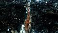 大城市城市高速公路首都高夜视图鸟瞰图时间间隔carragele面包 48030397