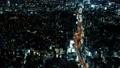 高城市首都高夜视图大城市时间间隔carrage的鸟瞰图 48030399