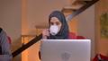 Closeup shoot of group of three young muslim 48037871