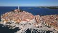 Aerial panorama of Rovinj, Croatia 48064125
