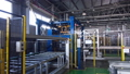 timelapse automated production line in factory workshop 48109593