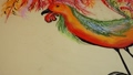 Drawing of a rooster. 48130278