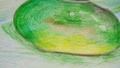 Drawing of apple and jug, still life. 48130284