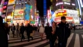 """""""東京都""""新宿歌舞伎町爭奪交叉路口→哥斯拉路·夜景""""Hyper Lapse"""" 48140286"""