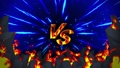 Battle game VS Flame ray animation loop 48196589