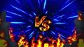 對戰遊戲VS火焰射線動畫循環 48196590
