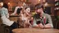 restaurant, couple, date 48197310