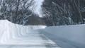 八甲田山の雪道走行 48201613