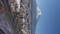 富士吉田和富士山的雪景(垂直·潘) 48230893