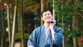 中間男性溫泉旅行Yukata旅行圖像 48350260