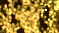 Gold christmas lights blur background. 48436136