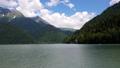 Beautiful Mountains surrounding Ritsa Lake in an Abkhazia 48450547