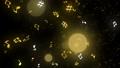 반짝이 입자 효과 음표 48452228
