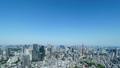 東京風景・タイムラプス・春・新緑と青空・ナロー 大空コピースペース 48468850