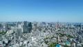 東京風景・タイムラプス・春・新緑と青空・ズームアウト 48468852