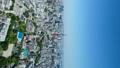 タテ素材 東京風景・タイムラプス・春・新緑と青空 48468853