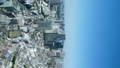 タテ素材 東京風景・タイムラプス・春・新緑と青空 48468854