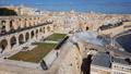 Cannon firing on Saluting Battery in Valletta, Malta 48482896