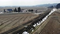 磐越西線の列車 ドローン撮影 48493102