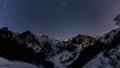 冬の一之倉沢から谷川岳に沈むオリオンTimelapseズーム版 48497171