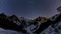 冬の一之倉沢から谷川岳に沈むオリオンTimelapse固定版 48497172