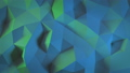 Beautiful Abstract Polygonal Surface Morphing in Multi-Colored Light Looped 3d Animation. Color Wall 48547188