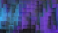 Beautiful Abstract Cubes in Different Colors Lights Looped 3d Animation. Color Wall Moving Seamless 48547189