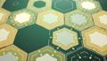 Digital Hexagons Background, Loop 48603197