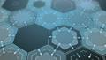 Abstract Digital Hexagons Background, Loop 48603198