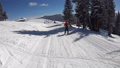 skiing in Colorado with first person view 48627488