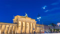Berlin Germany city skyline time lapse 48649621