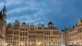 Brussels Belgium time lapse at Grand Place Square 48649626