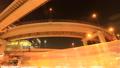 東京 ジャンクション 西参道(2) ダイナミックな車の流れ タイムラプス ティルトダウン 48671714