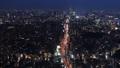 도쿄 황혼 시부야, 수도 고속 반짝 거리 시간 경과 확대 48695808