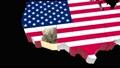 Arizona. USA. Politica.l map. Arizona State Map. Video has alpha channel 62 48714804