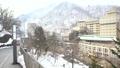 冬の定山渓温泉街 -見返り坂-(移動撮影) 48719441