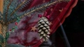 Gilded pine cone in Christmas tree 48762767