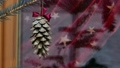 Gilded pine cone in Christmas tree 48762768