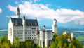 The magnificent Neuschwanstein castle in southern Germany 48813076