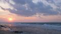 Beautiful tropical beach at sunset 48880101