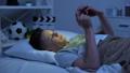 ベッド モバイル ねむりの動画 48923215